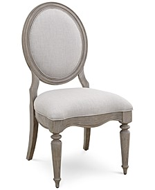 Elina Upholstered Side Chair, Created for Macy's