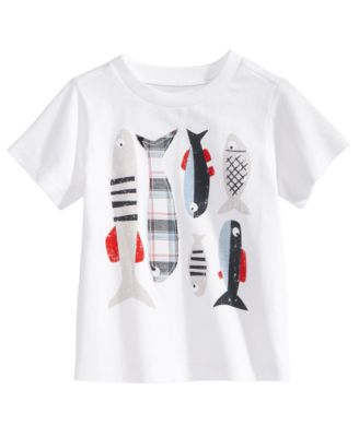 Graphic-Print Cotton T-Shirt, Baby Boys, Created for Macy's