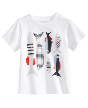 First Impressions GraphicPrint Cotton TShirt Baby Boys Created for Macys