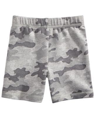 Camo-Print Shorts, Baby Boys, Created for Macy's