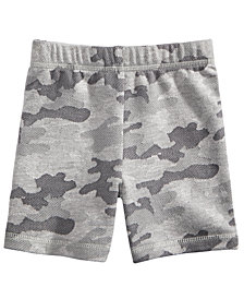 First Impressions Camo-Print Shorts, Baby Boys, Created for Macy's
