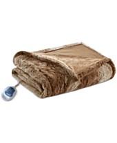 macys electric blankets