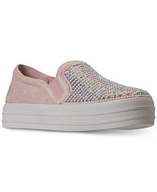 Skechers Women's Double Up - Shimmer Shaker Casual Sneakers from Finish Line