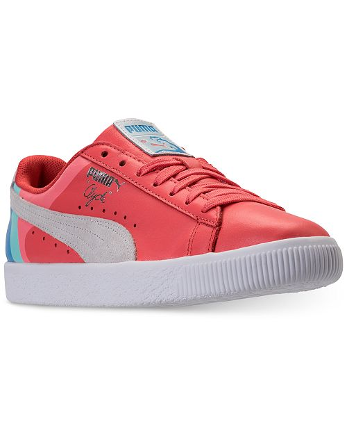14021b8d0d3b Puma x Pink Dolphin Men s Clyde Casual Sneakers from Finish Line ...