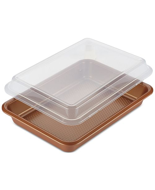 Rectangular Cake Pan & Lid