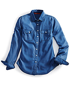 EMS® Women's Solid Chambray Shirt