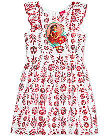 Disney Elena Floral-Print Lace Dress, Toddler Girls