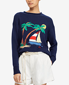 Polo Ralph Lauren Graphic Cotton Sweater