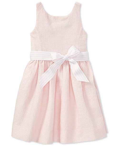 a1fcc6816 Polo Ralph Lauren Fit & Flare Dress, Little Girls & Reviews ...