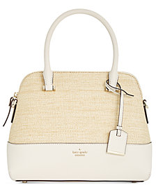 kate spade new york Cameron Street Straw Maise Small Satchel