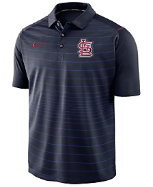 Nike Men's St. Louis Cardinals Stripe Polo