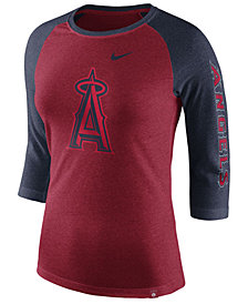 Nike Women's Los Angeles Angels Tri-Blend Raglan T-Shirt