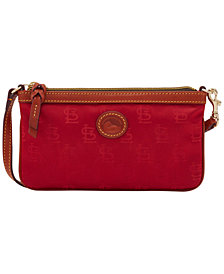 Dooney & Bourke St. Louis Cardinals Embossed Nylon Large Wristlet