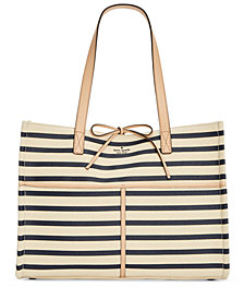 kate spade new york Canvas Sam Large Tote