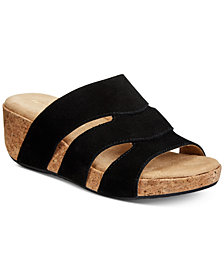 Adrienne Vittadini Daytona Wedge Sandals