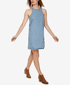 Lucky Brand Cotton Snap-Back Denim Dress