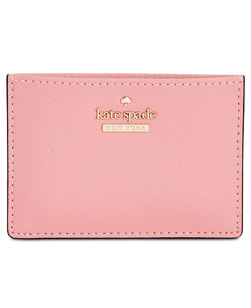 100% authentic defe3 c8626 kate spade new york Cameron Street Card Holder & Reviews ...