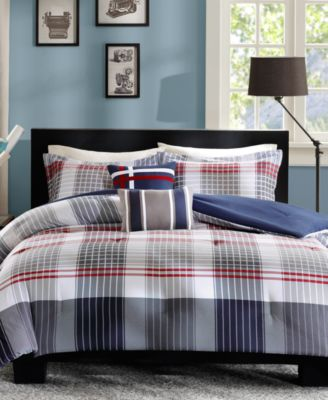 Caleb 4-Pc. Twin/Twin XL Comforter Set