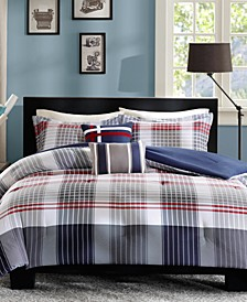 Caleb 5-Pc. Full/Queen Comforter Set