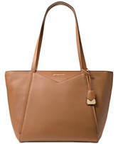 4982128b007a MICHAEL Michael Kors Whitney Large Soft Leather Tote