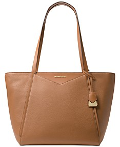 38d5e4670 MICHAEL Michael Kors Whitney Large Soft Leather Tote. 3 colors