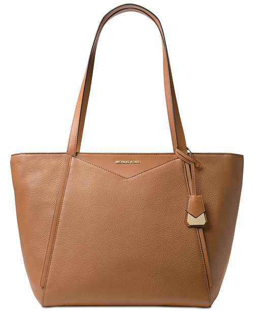 Michael Kors Whitney Large Soft Leather Tote