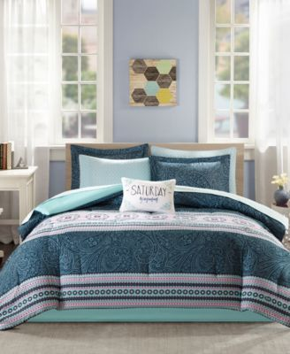 Gemma 7-Pc. Twin Comforter Set