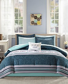 Gemma 9-Pc. Full Comforter Set