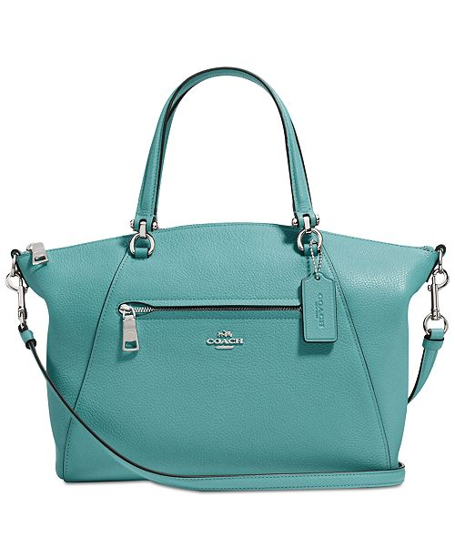 c9f398dded845 COACH Prairie Satchel in Pebble Leather   Reviews - Handbags ...