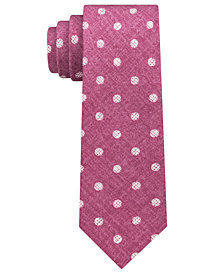 Michael Kors Men's Statement Dots Slim Silk Tie