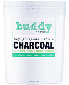 Buddy Scrub Activated Charcoal & Peppermint Body Scrub, 7-oz.