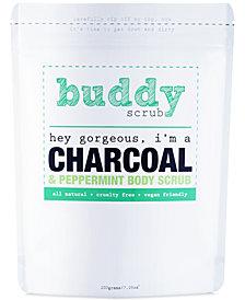 Buddy Scrub Activated Charcoal & Peppermint Body Scrub, 7-oz.