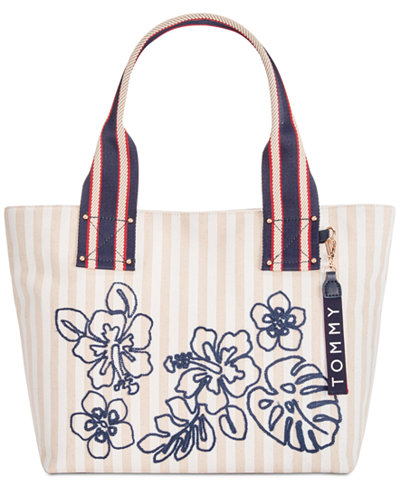 Tommy Hilfiger Classic Tommy Floral Tote, Created for Macy's