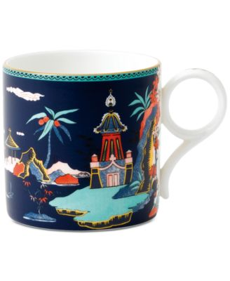 Wonderlust Blue Pagoda Mug