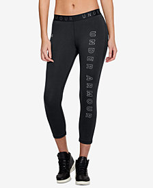 Under Armour Favorites Logo Cropped Leggings