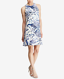 Lauren Ralph Lauren Trapeze Dress, Regular & Petite Sizes