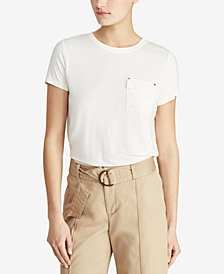Lauren Ralph Lauren Stretch Crewneck T-Shirt