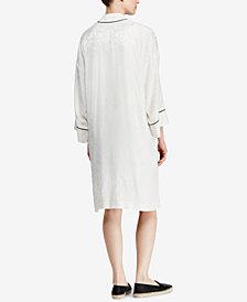 Lauren Ralph Lauren Floral-Detail Jacquard Jacket