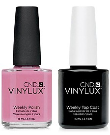Creative Nail Design Vinylux Beau Nail Polish & Top Coat (Two Items), 0.5-oz., from PUREBEAUTY Salon & Spa