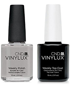 Creative Nail Design Vinylux Cityscape Nail Polish & Top Coat (Two Items), 0.5-oz., from PUREBEAUTY Salon & Spa