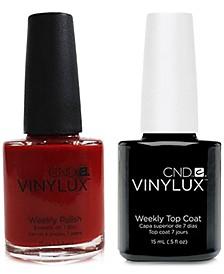 Creative Nail Design Vinylux Brick Knit Nail Polish & Top Coat (Two Items), 0.5-oz., from PUREBEAUTY Salon & Spa