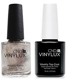 Creative Nail Design Vinylux Safety Pin Nail Polish & Top Coat (Two Items), 0.5-oz., from PUREBEAUTY Salon & Spa