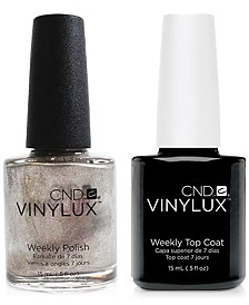 Creative Nail Design Vinylux Safety Pin Nail Polish & Top Coat (Two Items), 0.5-oz., from PUREBEAUTY Salon & Spa