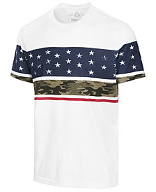 American Rag Men's Stars & Camo T-Shirt, Created for Macy's