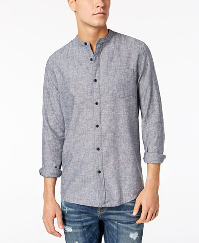 American Rag Men's Textured Pocket Shirt, Created for Macy's