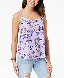 Hippie Rose Juniors' V-Neck Tank Top