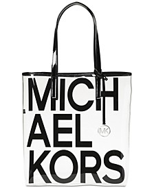 The Michael Bag Clear North South Tote