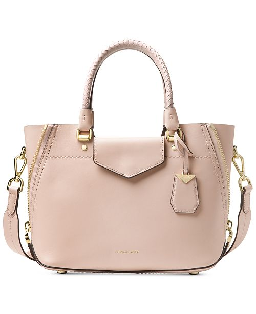 a06c721ed02c Michael Kors Blakely Small Smooth Leather Messenger   Reviews ...