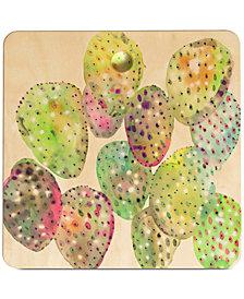 Deny Designs Cayena Blanca Cactus Drops Cutting Board
