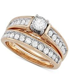 Diamond Bridal Set (1 ct. t.w.) in 14k Gold